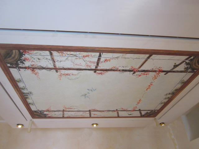 Customize your false-ceiling